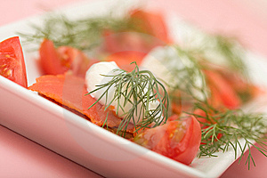 Salmon Hor D'oeuvre Royalty Free Stock Photos - Image: 8686408