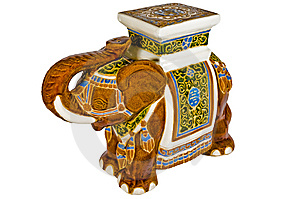 Indischer Elefant Stockbild - Bild: 8686631