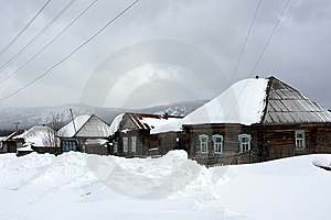 The Ural Village. Stock Photography - Image: 8686762