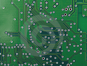 Base Plate Of Integrated Circuit Stock Photography - Image: 8687072