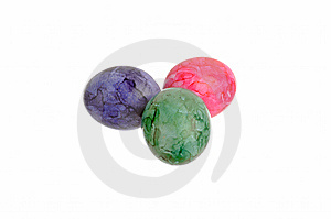 Easter Eggs Royalty Free Stock Image - Image: 8687766
