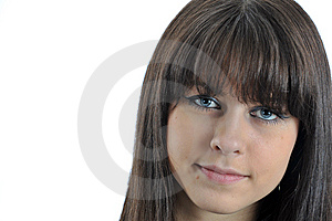 Portrait Young Girl Royalty Free Stock Image - Image: 8692016
