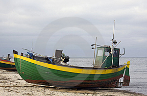 Fisher Boat Royalty Free Stock Images - Image: 8692659