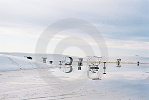 White Sands,New  Mexico,USA Stock Images - Image: 8694774