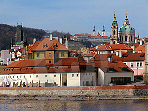 St. Nicholas' Cathedral In Prague Stock Image - Image: 8695001