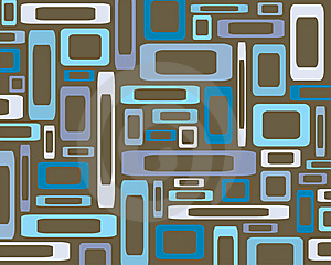 Retro Rectangles Background Royalty Free Stock Photos - Image: 8697358