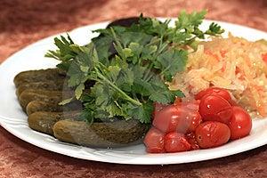 Comidas Saladas. Imagen de archivo - Imagen: 8699911