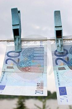 Twenty Euros Stock Image - Image: 870111