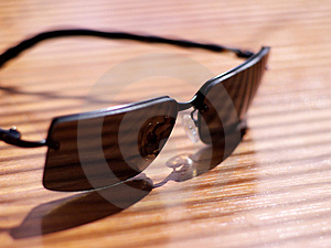 Mens' Sunglasses In Strong Light And Shallow Focus Stock Image - Image: 871631