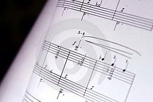 Music Notes Stock Photo - Image: 873180