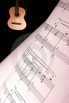 Music Notes Royalty Free Stock Photos - Image: 873188