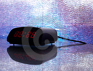 Digital Alarm Clock (digits Adjustable) Stock Image - Image: 873441