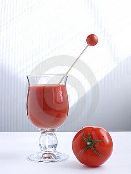 Tomatfruktsaft VII Arkivbild - Bild: 876862