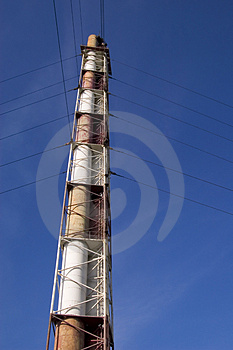 Smokestack Stock Photography - Image: 879952