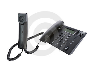 Business Phone Close Up Stock Image - Image: 8701601