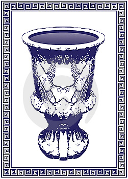 Ancient Grecian Bowl Stock Photos - Image: 8701613