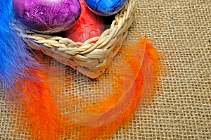 Easter Eggs Stock Image - Image: 8702741
