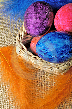 Easter Eggs Royalty Free Stock Photo - Image: 8702795