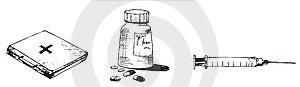 Medication Royalty Free Stock Photo - Image: 8703755