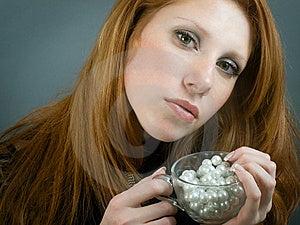 Portrait Of Beautiul Girl Stock Image - Image: 8703951