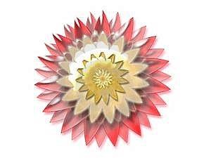 Glow Flower Stock Photography - Image: 8704342