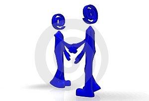 Communicate Via Email Stock Image - Image: 8704441