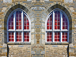 Church Windows Royalty Free Stock Photo - Image: 8708155