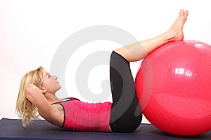 Fitness woman Free Stock Image