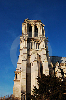 Notre-Dame Cathedral - Fragment Stock Photos - Image: 8709703