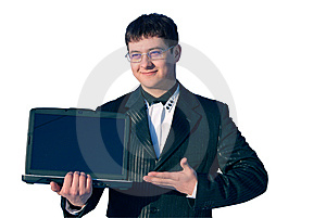 Notebook Business Stock Image - Image: 8710841