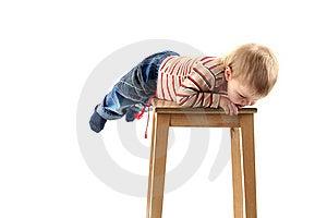 Little Blond Boy Stock Photo - Image: 8710980