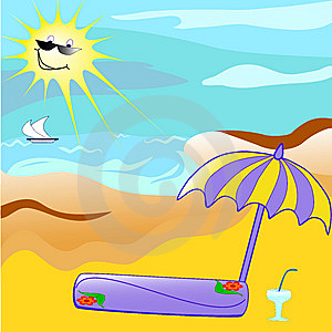 Tropical Beach. Royalty Free Stock Photography - Image: 8711497