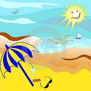 Tropical Beach. Stock Image - Image: 8711501