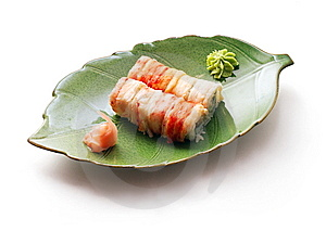 Rolls With Crabmeat And Tuna Royalty Free Stock Photo - Image: 8713405