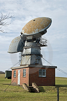 Radar Station Royalty Free Stock Photos - Image: 8713458