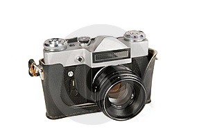 The Old Camera Royalty Free Stock Photo - Image: 8713795