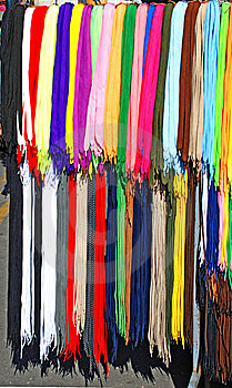 Colorful Laces Royalty Free Stock Image - Image: 8714156