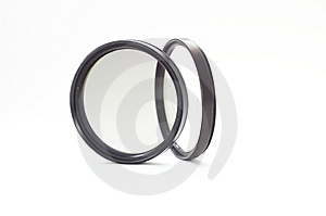 Camera Lens Filters On White Royalty Free Stock Photo - Image: 8714465