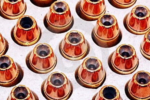 Hollow Point Bullets Royalty Free Stock Photos - Image: 8714538