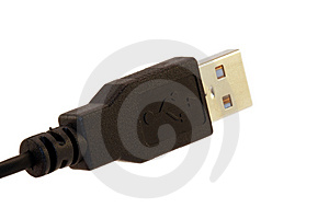 USB Plug Royalty Free Stock Photo - Image: 8714575