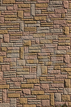 Attractive Stonework In Close Crop Stock Photos - Image: 8718443