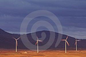 Windmills Stock Photography - Image: 8718542