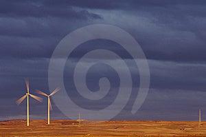 Windmills Stock Image - Image: 8718581
