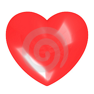 Red Heart Royalty Free Stock Photography - Image: 8719037