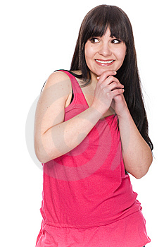Casual Woman Stock Photo - Image: 8720500