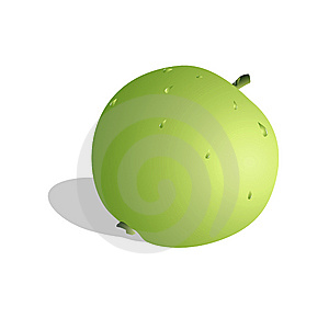 Green Apple Royalty Free Stock Photo - Image: 8722295