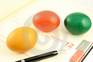 Easter In Office Royalty Free Stock Photos - Image: 8723338