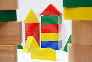 Wooden Blocks Royalty Free Stock Images - Image: 8723579