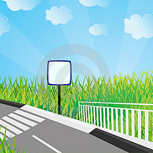 Ecological Background. Vector Illustration Stock Photo - Image: 8725030