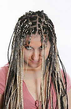 Ethnic Dreadlocks Stock Image - Image: 8725161